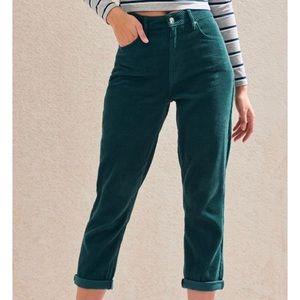 PacSun Emerald Corduroy Jeans